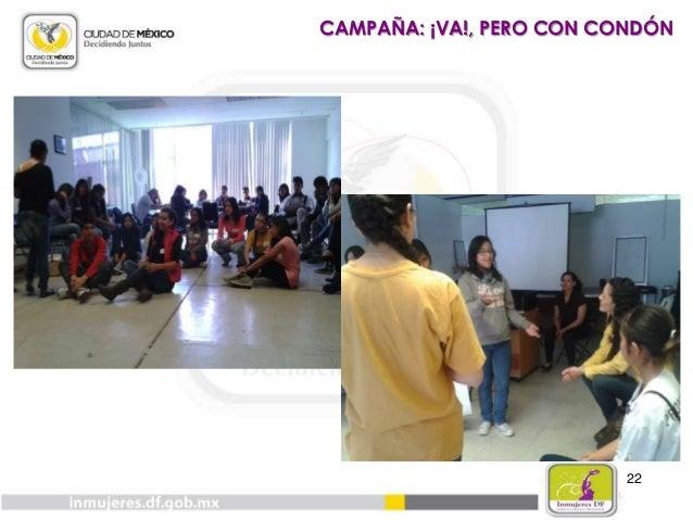 23 CAMPAÑA: ¡VA!, PERO CON CONDÓN