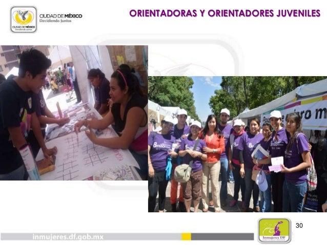 31 GENERALES Campaña: ¡Va!, pero con condón De Febrero a Mayo 2014: Talleres: Prevención de Embarazo Adolescente 5 tallere...