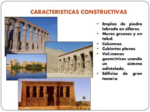 CARACTERISTICAS CONSTRUCTIVAS  Empleo de piedra labrada en sillares.  Muros gruesos y en talud.  Columnas.  Cubiertas ...