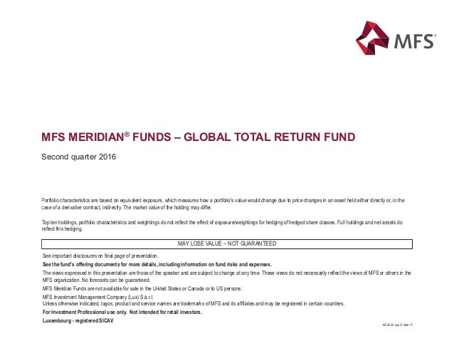 16500.39 exp 31-Mar-17 See important disclosures on final page of presentation. See the fund's offering documents for more ...