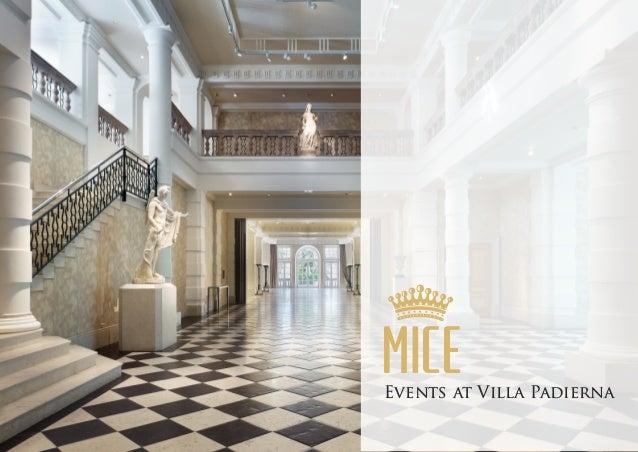 MICEEvents at Villa Padierna