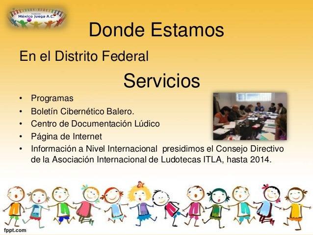 Fundación México Juega Slide 3