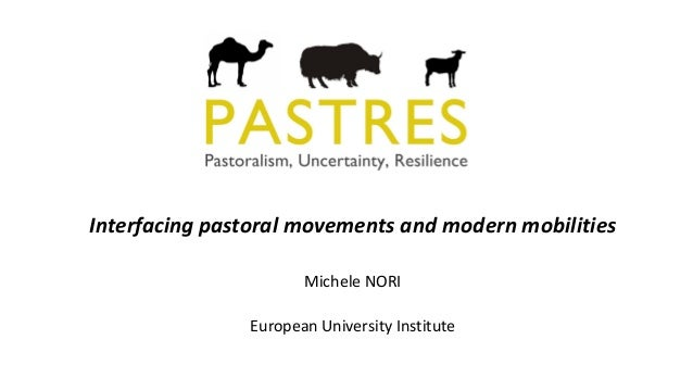 Interfacing pastoral movements and modern mobilities Michele NORI European University Institute