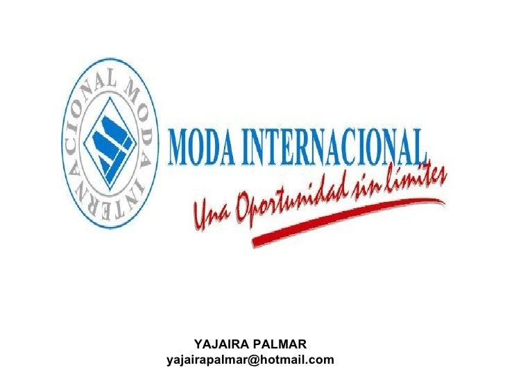 YAJAIRA PALMAR [email_address]