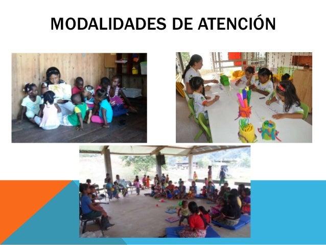 MODALIDADES DE ATENCIÓN