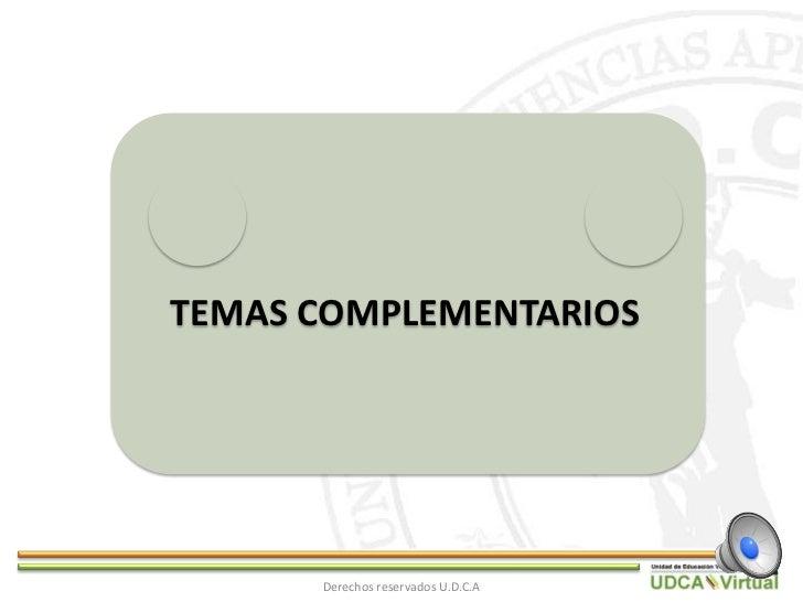 RespetuosamenteIsrael Giovanni González DMV          Derechos reservados U.D.C.A