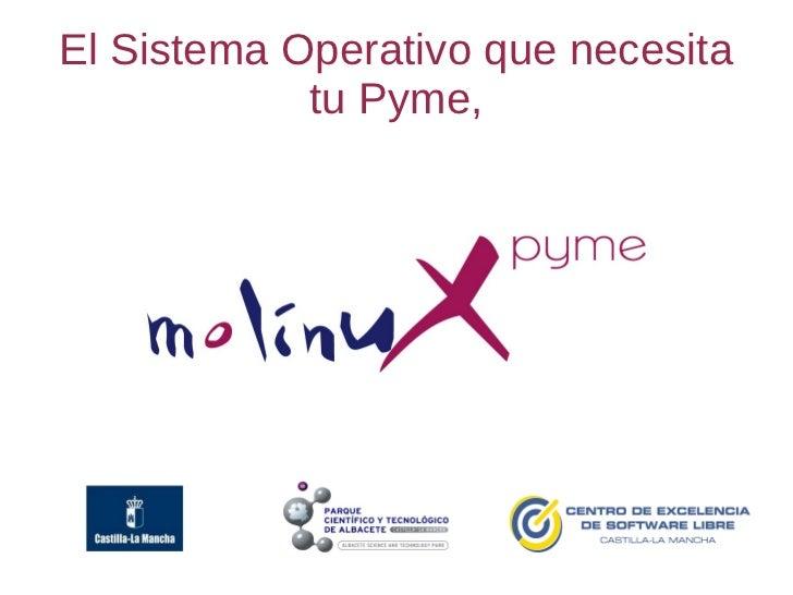 El Sistema Operativo que necesita            tu Pyme,