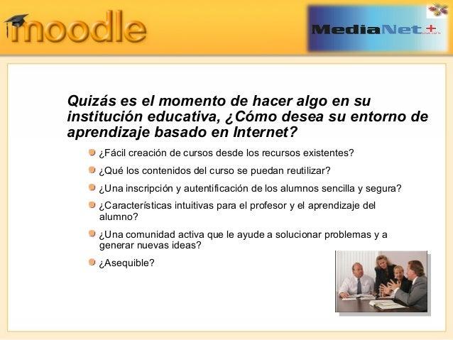 Uso óptimo de Moodle Slide 2