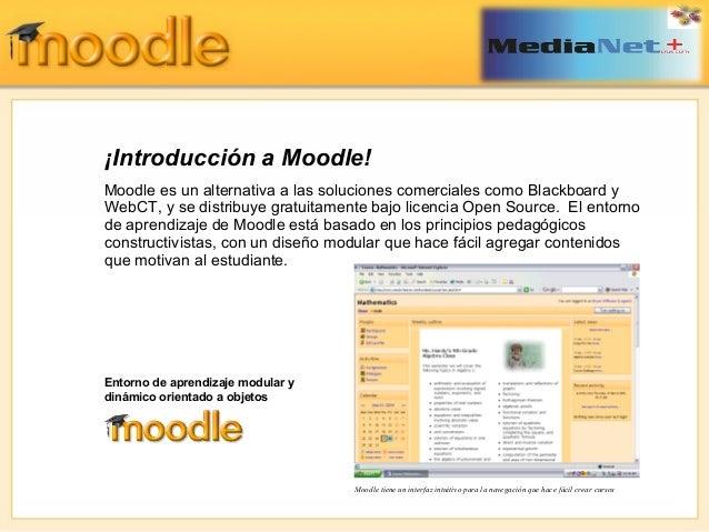 Uso óptimo de Moodle Slide 3