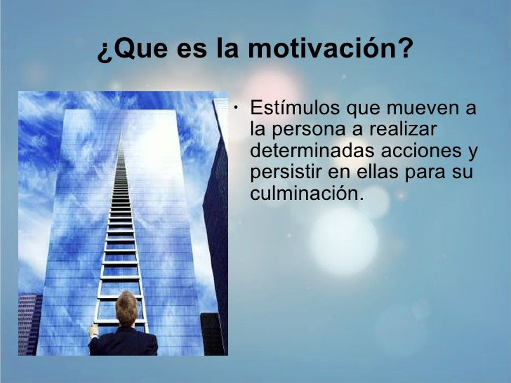 Presentacion Motivacion