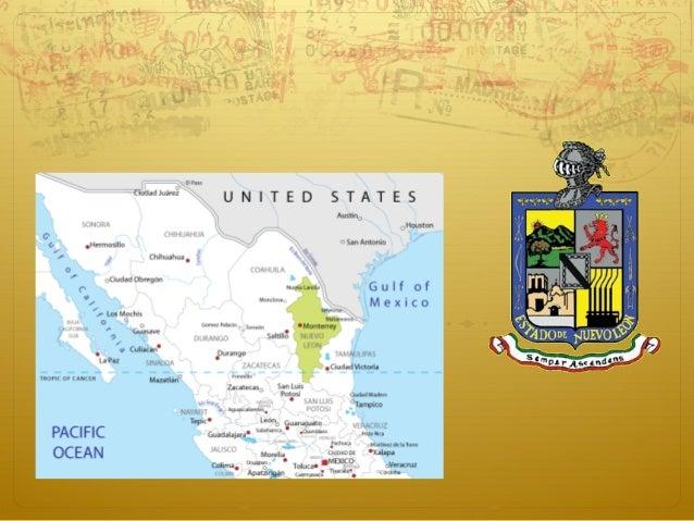  Su capital es Monterrey Nueve municipios forman el Área Metropolitana de Monterrey: Monterrey, San Pedro Garza García, S...