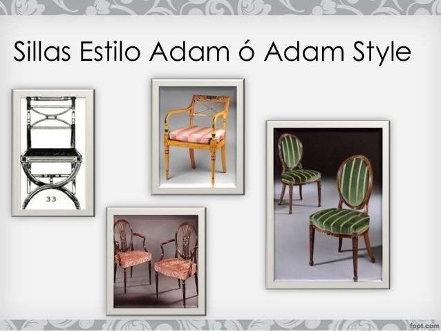 Presentacion mueble neo cl sico ingles robert adam - Sillas estilo ingles ...