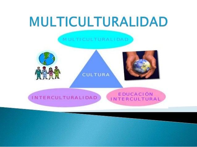  Concepto de multiculturalidad◦ Otros conceptos relacionados Multiculturalidad en España Inmigración en España Día del...