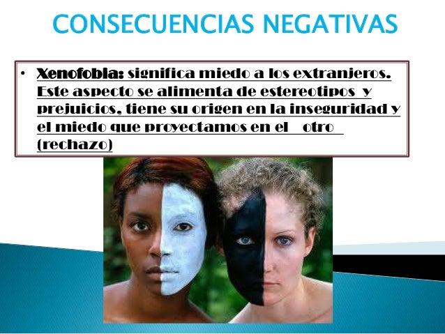 • Intolerancia:falta de respetode una persona oun grupo hacialas creencias-culturasdiferentes a laspropiasCONSECUENCIAS NE...