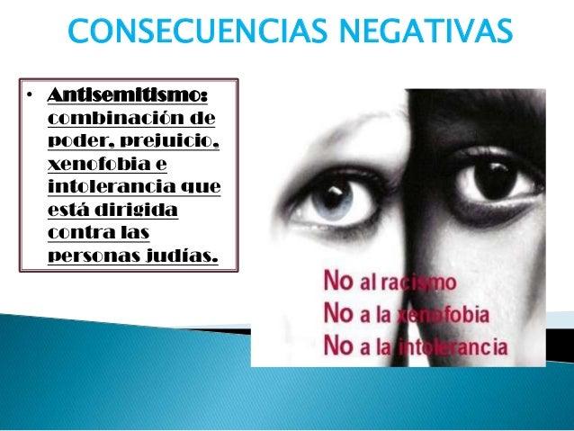 • Racismo : es el sentimiento de rechazo masextendido. Tiene su base en la creencia deque las características que definen ...