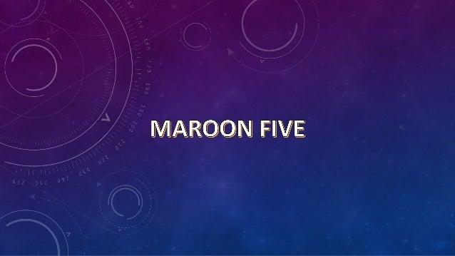 Maroon 5 es una banda de pop rock y pop2 estadounidense de Los Angeles, California. El grupo se formó originalmente entre ...