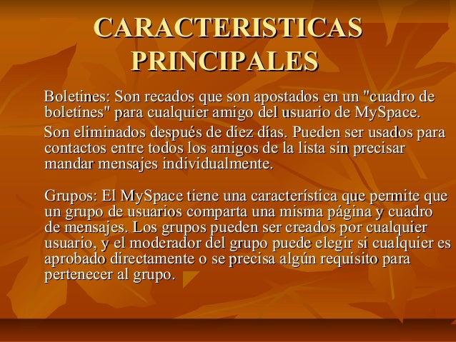 """CARACTERISTICAS         PRINCIPALESBoletines: Son recados que son apostados en un """"cuadro deboletines"""" para cualquier amig..."""