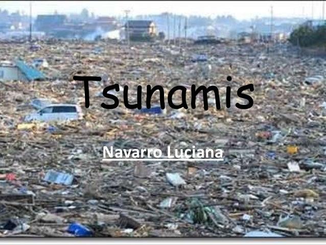 Tsunamis Navarro Luciana