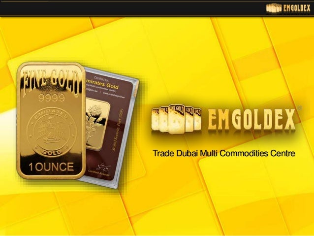 Trade Dubai Multi Commodities Centre