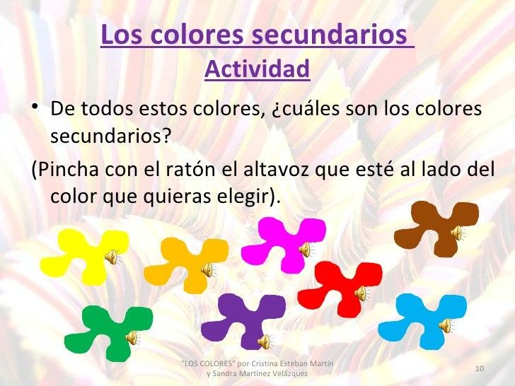 Los colores primarios secundarios fr os y c lidos - Colores que pegan con el azul ...