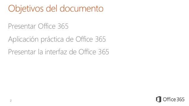 Presentacion Microsoft Office 365 Slide 2