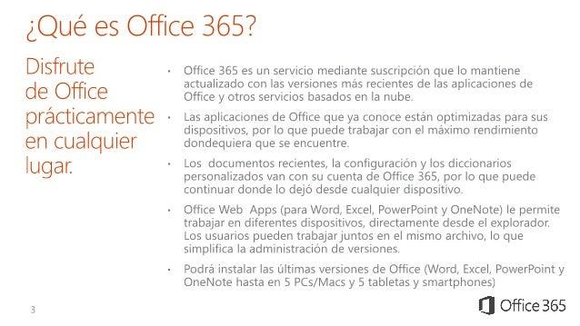 Presentacion Microsoft Office 365 Slide 3
