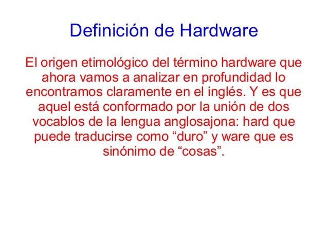 Presentacion Obligatoria Sobre Hardware
