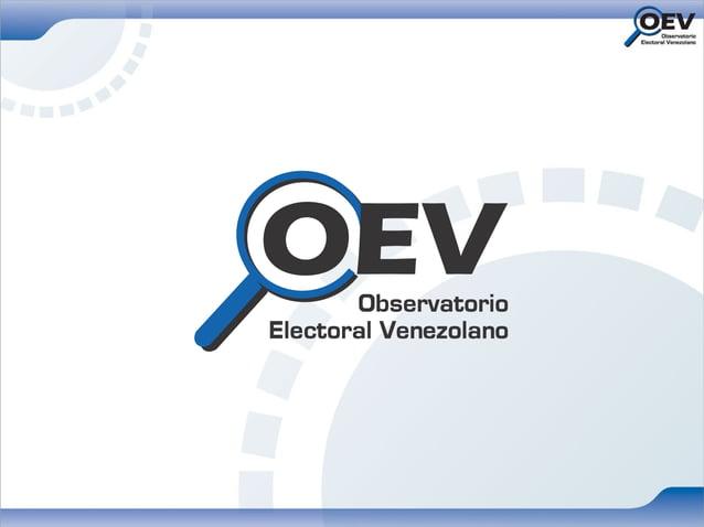 Presentacion oev capacitación observadores
