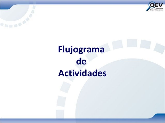 Flujograma     deActividades
