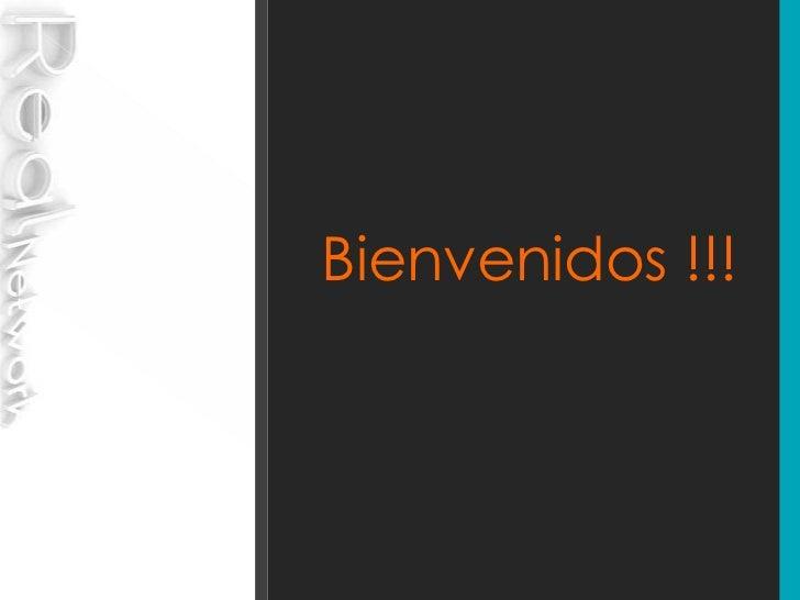 Bienvenidos !!!<br />