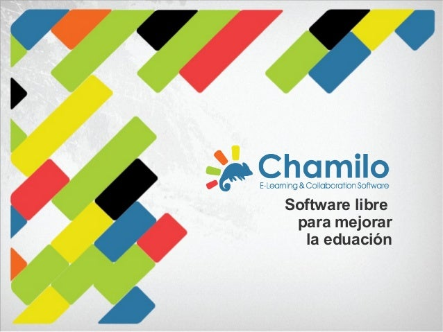 Software libre para mejorar la eduación