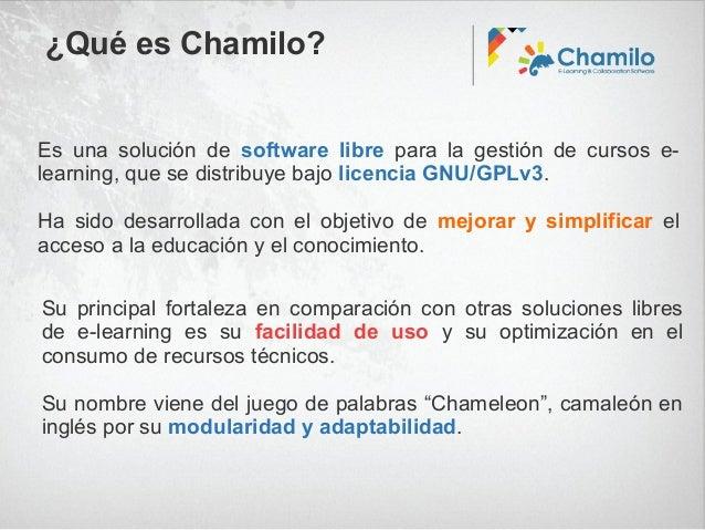 Presentacion sobre Chamilo en OpenExpo Slide 3