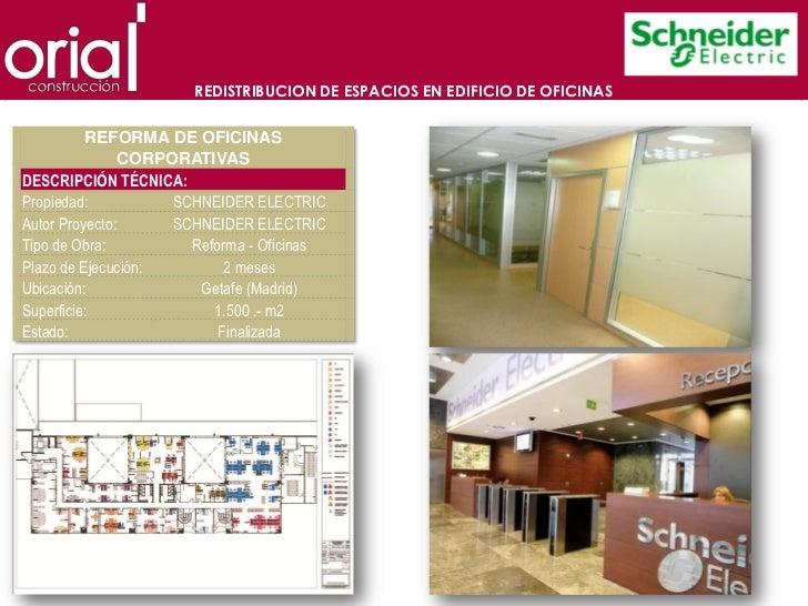 Presentacion oria construccion for Oficinas ono madrid