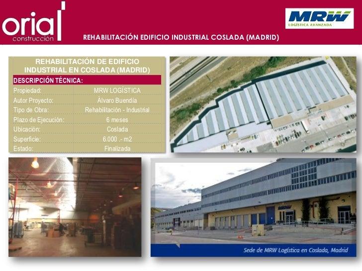 Presentacion oria construccion for Oficinas de mrw en madrid