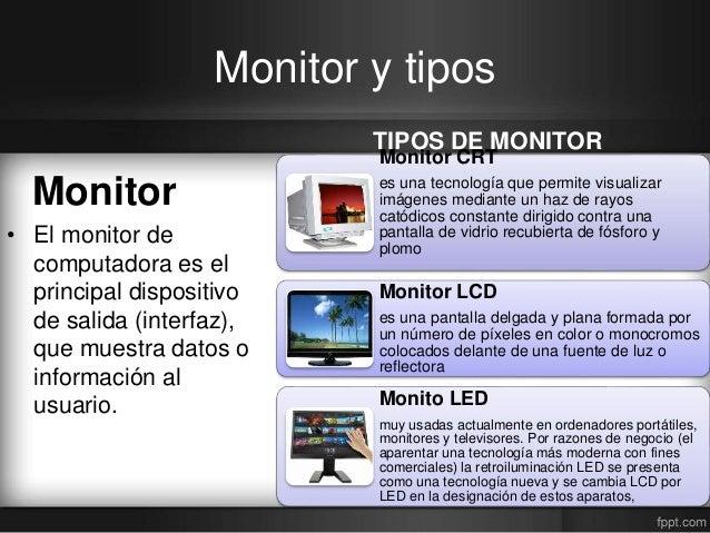 Mantenimiento preventivo y correctivo pantalla - Medidas de monitores para pc ...