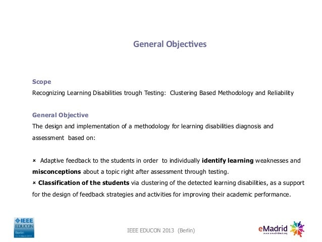 A cluster-based analysis to diagnose students' learning achievements Slide 3