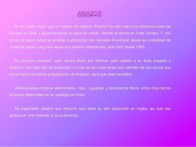 No se puede negar que el modelo de negocio Amazon ha sido casi una referencia para lastiendas en línea y aparentemente no ...