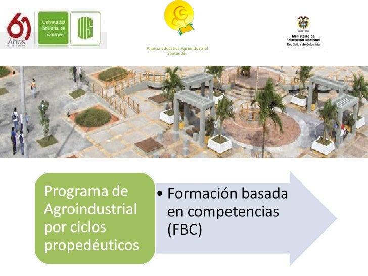 Alianza Educativa Agroindustrial Santander