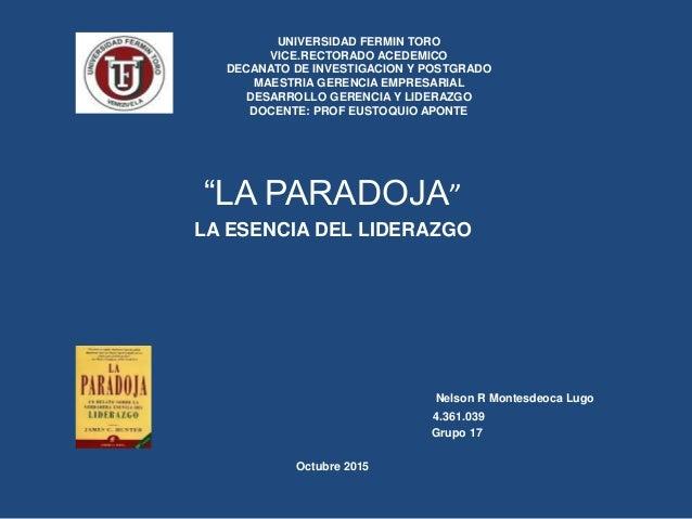 UNIVERSIDAD FERMIN TORO VICE.RECTORADO ACEDEMICO DECANATO DE INVESTIGACION Y POSTGRADO MAESTRIA GERENCIA EMPRESARIAL DESAR...