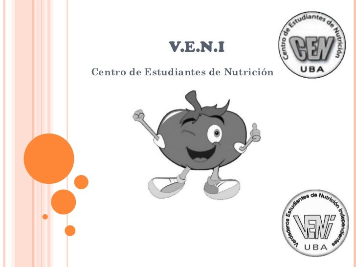 V.E.N.I Centro de Estudiantes de Nutrición