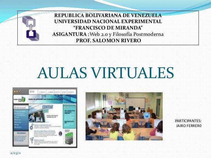 """REPUBLICA BOLIVARIANA DE VENEZUELA           UNIVERSIDAD NACIONAL EXPERIMENTAL                 """"FRANCISCO DE MIRANDA""""     ..."""