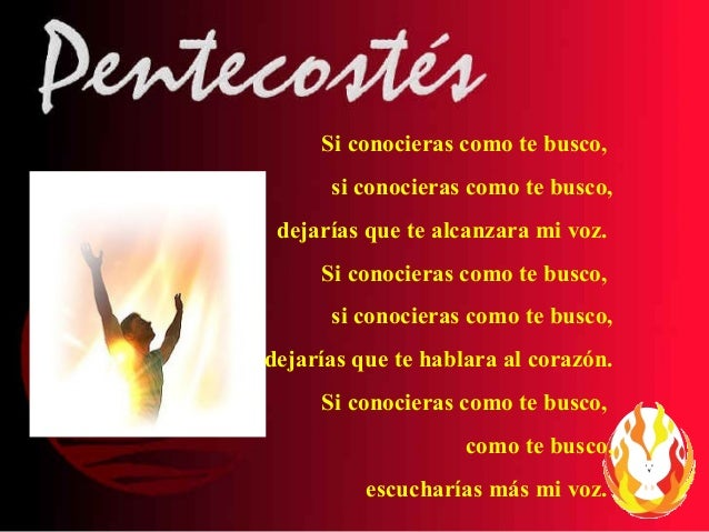 Presentación Pentecostés