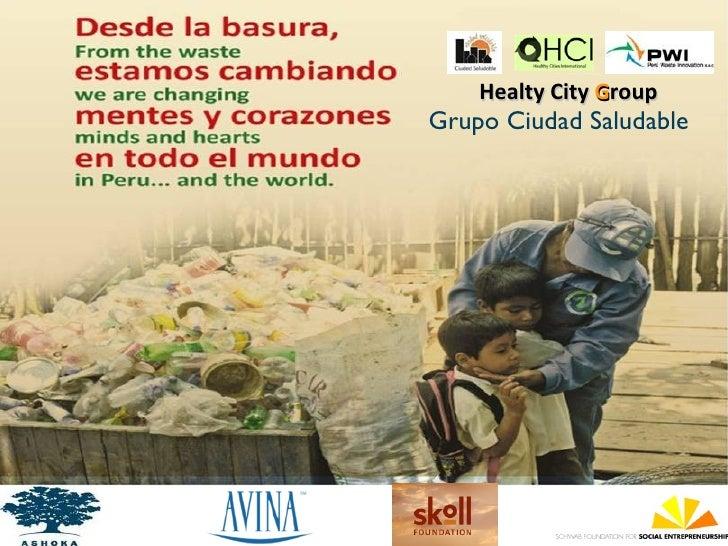 Healty City GroupGrupo Ciudad Saludable
