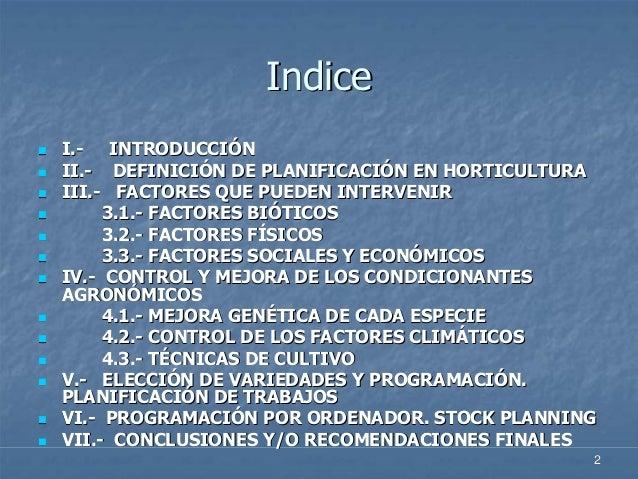 Presentacion plancultivos for Horticultura definicion