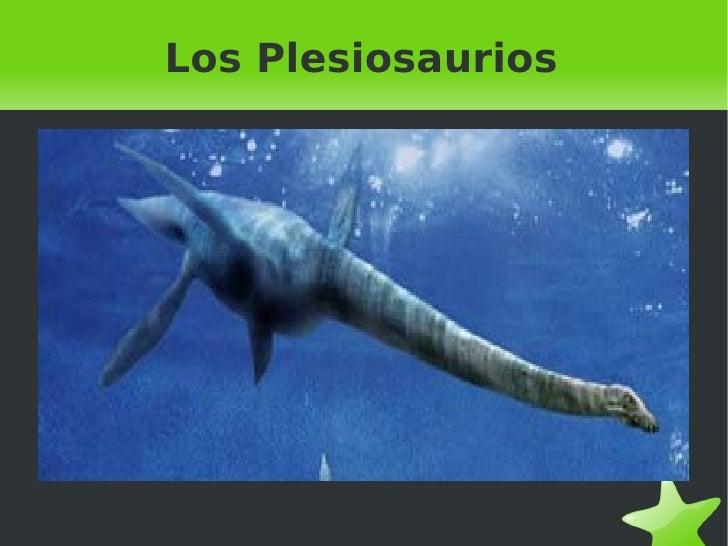 Los Plesiosaurios