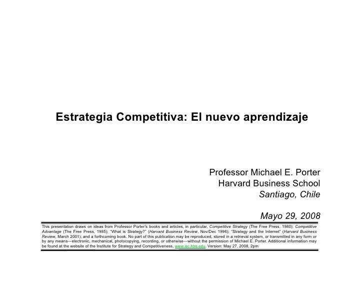 Estrategia Competitiva: El nuevo aprendizaje                                                                              ...