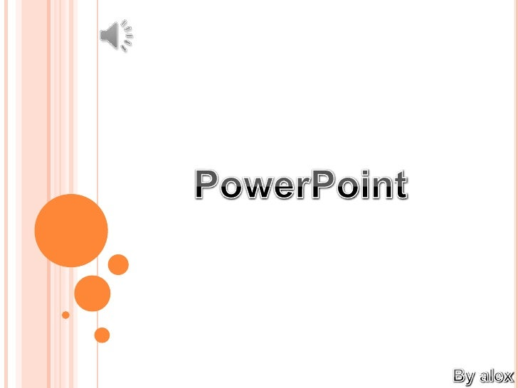 1.- Conceptos Básicos          a) ¿Qué es PowerPoint ?          b) Con que elementos cuenta          c) Descripciones2.- O...