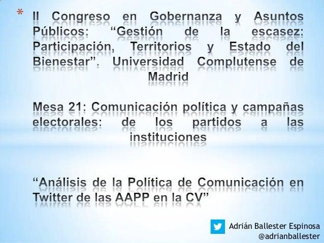 * Adrián Ballester Espinosa @adrianballester
