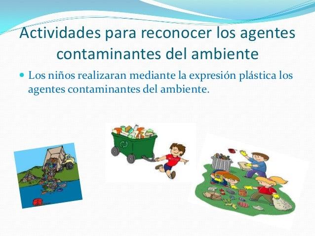 Actividades para reconocer los agentes contaminantes del - Suelos para ninos ...