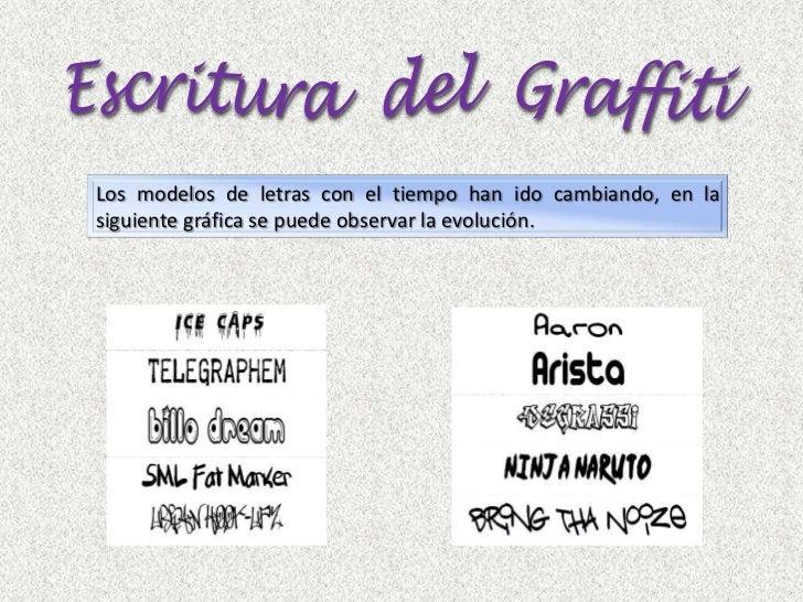 Presentacion power point filosofía del graffiti xiomara batista Slide 3